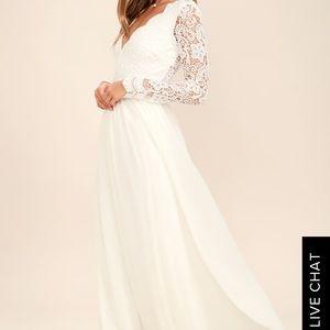 Wedding dress or. Reception dress